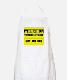 Thespian At Work Apron