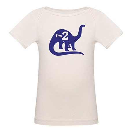 Cute Two Year Old Organic Baby T-Shirt