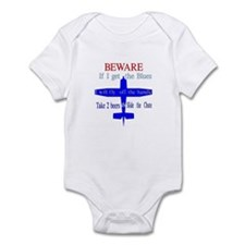 JET BLUE Infant Bodysuit