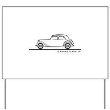 Citroën 15CV Yard Sign