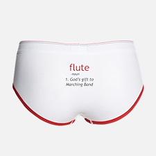 Flute Definition Women's Boy Brief