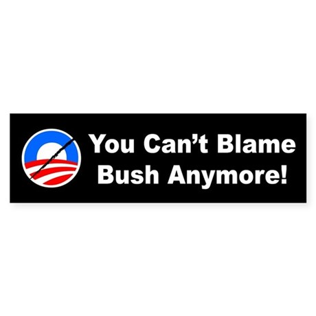 Anti-Obama Bumper Sticker