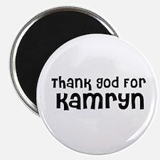 Thank God For Kamryn Magnet