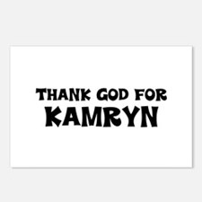 Thank God For Kamryn Postcards (Package of 8)