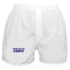 Thank God For Kamryn Boxer Shorts