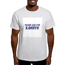 Thank God For Kamryn Ash Grey T-Shirt