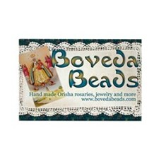 Boveda Beads Rectangle Magnet