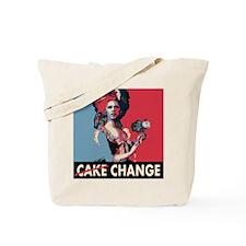 Obama: Eat Change, Cake.... Tote Bag