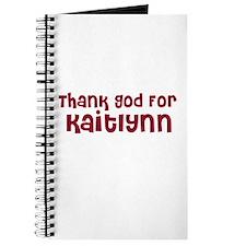 Thank God For Kaitlynn Journal
