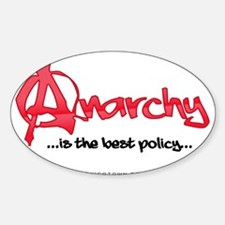 Anarchy Is The Best Policy Decal