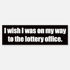 Lottery Office (Bumper Sticker)