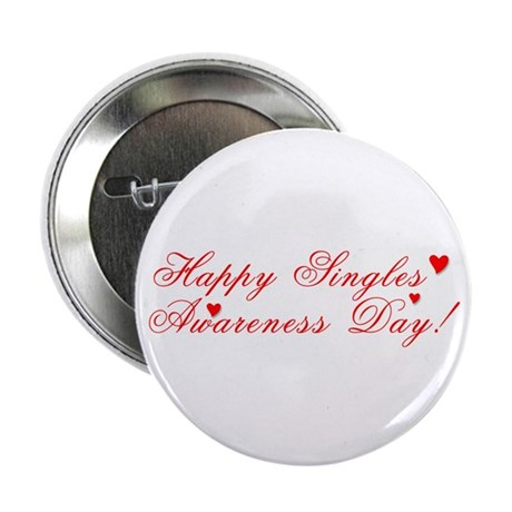 Singles' Awareness Day Button