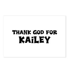 Thank God For Kailey Postcards (Package of 8)