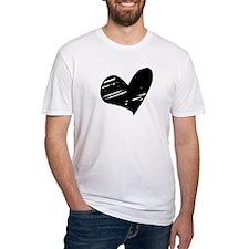 Black but NOT broken Heart Shirt