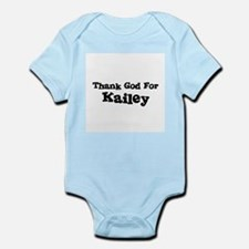 Thank God For Kailey Infant Creeper