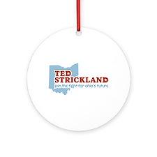 Strickland Ohio's Future Ornament (Round)