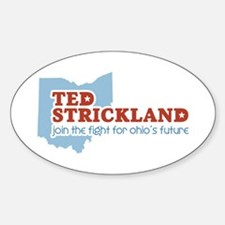 Strickland Ohio's Future Sticker (Oval)