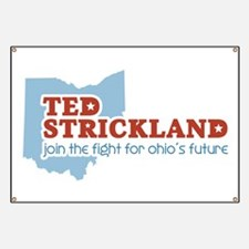 Strickland Ohio's Future Banner