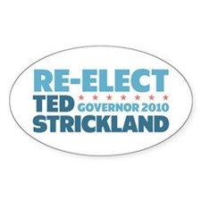 Re-Elect Strickland Decal