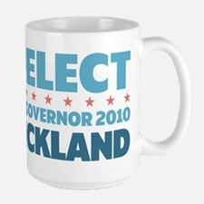 Re-Elect Strickland Large Mug