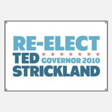 Re-Elect Strickland Banner