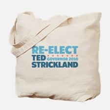 Re-Elect Strickland Tote Bag