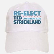 Re-Elect Strickland Baseball Baseball Cap