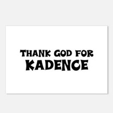 Thank God For Kadence Postcards (Package of 8)