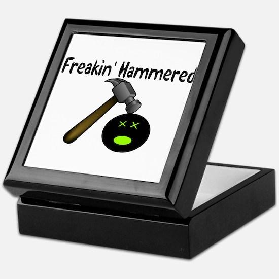 Freakin Hammered Keepsake Box