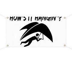 Hang Glider Hangin Banner