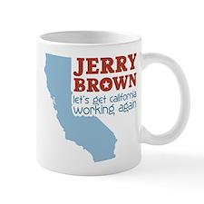 Brown California Mug