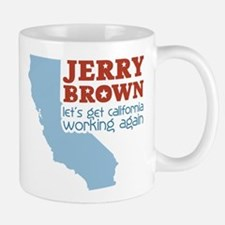 Brown California Small Small Mug