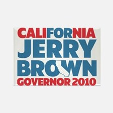 For Jerry Brown Rectangle Magnet