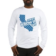 Jerry Brown '10 Long Sleeve T-Shirt
