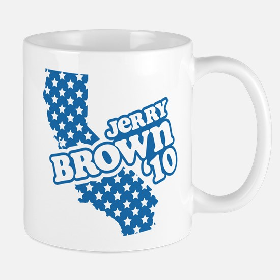 Jerry Brown '10 Mug