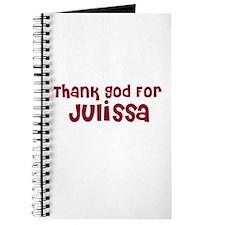 Thank God For Julissa Journal