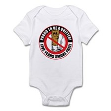 Proud To Be A Quitter 5 Years Infant Bodysuit