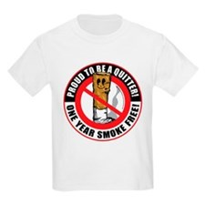 Proud To Be A Quitter One Yea T-Shirt
