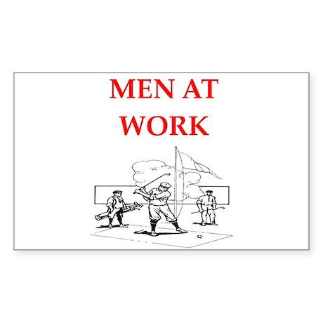 Golf joke Sticker