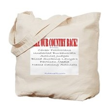 Take our Country back, from Tote Bag