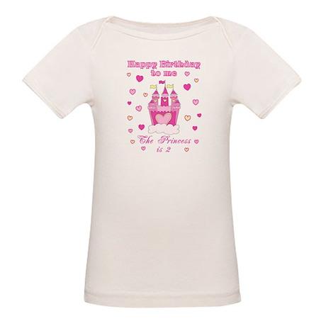 Princess 2nd birthday Organic Baby T-Shirt