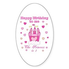 Princess 1st birthday Decal
