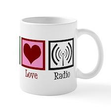Peace Love Radio Mug