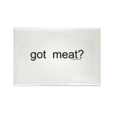 got meat? Rectangle Magnet (10 pack)