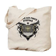 Proud Air Force Stepdad Tote Bag
