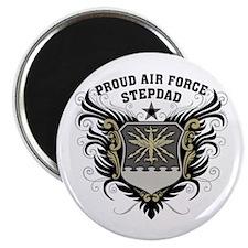 Proud Air Force Stepdad Magnet