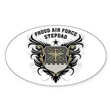 Proud Air Force Stepdad Decal