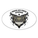 Proud air force dad Stickers