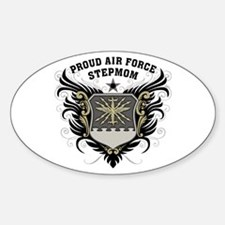 Proud Air Force Stepmom Decal