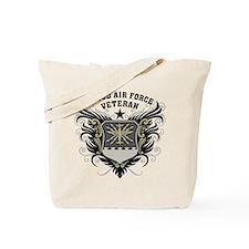Proud Air Force Veteran Tote Bag